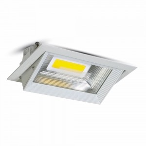 Lampa 30W prostokątny downlight V-TAC LED